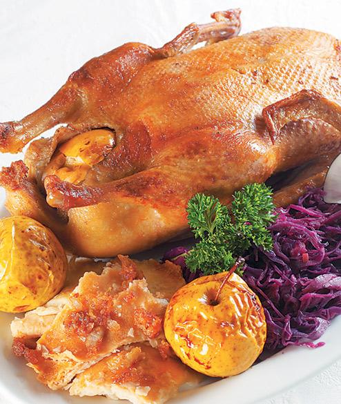 Утка с гречкой запеченная в духовке рецепт с фото - 1000.menu